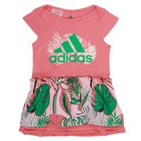 Υφασμάτινα Κορίτσι Κοντά Φορέματα adidas Performance FLOWER DRESS Ροζ