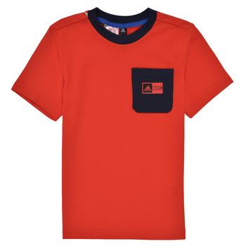 Υφασμάτινα Αγόρι Σετ adidas Performance LB DY SHA SUM Red / Marine