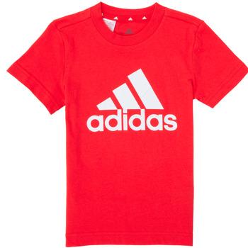 Υφασμάτινα Αγόρι T-shirt με κοντά μανίκια adidas Performance B BL T Red