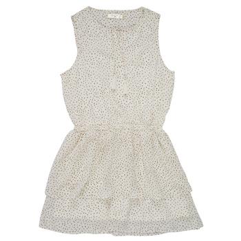 Υφασμάτινα Κορίτσι Κοντά Φορέματα Deeluxe JESTA Άσπρο