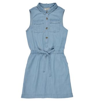 Υφασμάτινα Κορίτσι Κοντά Φορέματα Deeluxe LALI Μπλέ