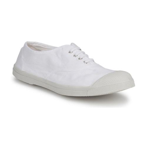 Παπούτσια Άνδρας Χαμηλά Sneakers Bensimon TENNIS LACET άσπρο
