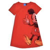 Υφασμάτινα Κορίτσι Κοντά Φορέματα Desigual 21SGVK41-3036 Red