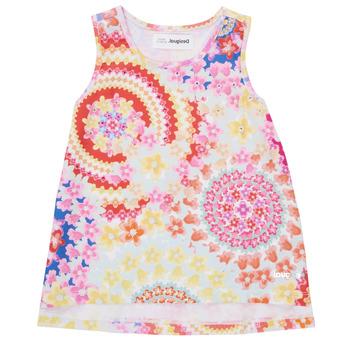 Υφασμάτινα Κορίτσι Αμάνικα / T-shirts χωρίς μανίκια Desigual 21SGCW02-3146 Multicolour