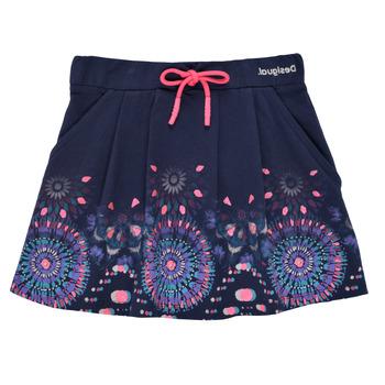 Υφασμάτινα Κορίτσι Φούστες Desigual 21SGFK03-5000 Μπλέ