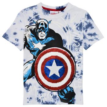 Υφασμάτινα Αγόρι T-shirt με κοντά μανίκια Desigual 21SBTK09-5036 Multicolour