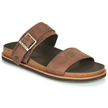 Παπούτσια Άνδρας Τσόκαρα Timberland AMALFI VIBES 2BAND SANDAL Brown