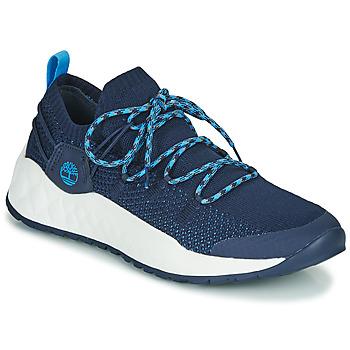 Παπούτσια Άνδρας Χαμηλά Sneakers Timberland SOLAR WAVE LOW KNIT Μπλέ