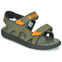 Παπούτσια Παιδί Σανδάλια / Πέδιλα Timberland PERKINS ROW 2-STRAP Green / Orange