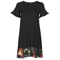 Υφασμάτινα Γυναίκα Κοντά Φορέματα Desigual KALI Black