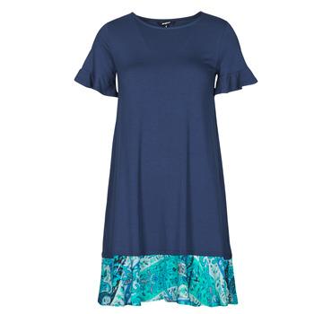 Υφασμάτινα Γυναίκα Κοντά Φορέματα Desigual KALI Marine