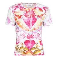 Υφασμάτινα Γυναίκα T-shirt με κοντά μανίκια Desigual TATTOO Multicolour