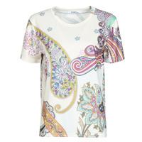 Υφασμάτινα Γυναίκα T-shirt με κοντά μανίκια Desigual POPASLEY Άσπρο