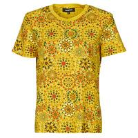 Υφασμάτινα Γυναίκα T-shirt με κοντά μανίκια Desigual LYON Yellow