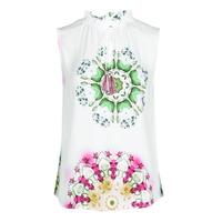 Υφασμάτινα Γυναίκα Αμάνικα / T-shirts χωρίς μανίκια Desigual ROSEN Άσπρο
