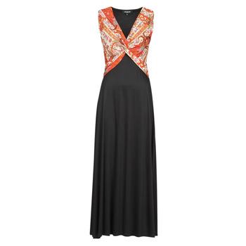 Υφασμάτινα Γυναίκα Μακριά Φορέματα Desigual YAKARTA Black