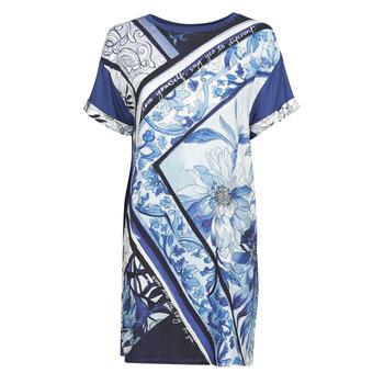 Υφασμάτινα Γυναίκα Κοντά Φορέματα Desigual SOLIMAR Μπλέ