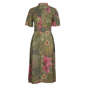 Υφασμάτινα Γυναίκα Μακριά Φορέματα Desigual ANGELA Kaki