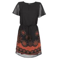 Υφασμάτινα Γυναίκα Κοντά Φορέματα Desigual TAMPA Black