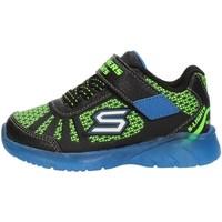 Παπούτσια Αγόρι Ψηλά Sneakers Skechers 401520N Black