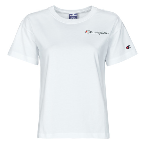 Υφασμάτινα Γυναίκα T-shirt με κοντά μανίκια Champion 113090 Άσπρο