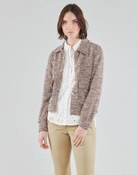 Υφασμάτινα Γυναίκα Σακάκι / Blazers Cream CHANA JACKET Multicolour