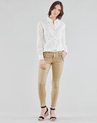 Υφασμάτινα Γυναίκα Παντελόνια Πεντάτσεπα Cream HOLLY TWILL PANT Beige