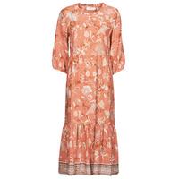 Υφασμάτινα Γυναίκα Μακριά Φορέματα Cream JOHUI DRESS Orange