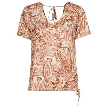 Υφασμάτινα Γυναίκα T-shirt με κοντά μανίκια Cream LULLA TSHIRT Multicolore