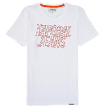 Υφασμάτινα Αγόρι T-shirt με κοντά μανίκια Kaporal MAIL Άσπρο
