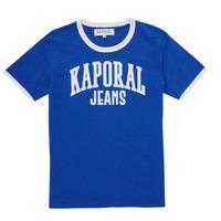 Υφασμάτινα Αγόρι T-shirt με κοντά μανίκια Kaporal METRO Μπλέ