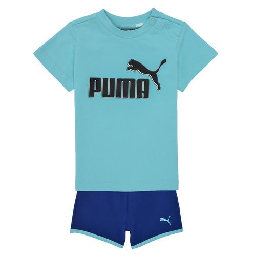 Υφασμάτινα Αγόρι Σετ Puma BB SET ANGEL Μπλέ