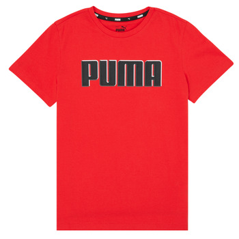 Υφασμάτινα Αγόρι T-shirt με κοντά μανίκια Puma ALPHA GRAF TEE Red