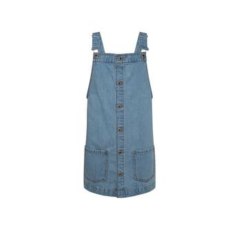 Υφασμάτινα Κορίτσι Κοντά Φορέματα Pepe jeans CHICAGO PINAFORE Μπλέ