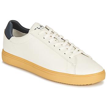 Παπούτσια Χαμηλά Sneakers Clae BRADLEY CACTUS Άσπρο / Μπλέ