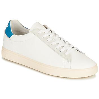 Παπούτσια Χαμηλά Sneakers Clae BRADLEY CALIFORNIA Άσπρο / Μπλέ