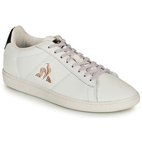 Παπούτσια Γυναίκα Χαμηλά Sneakers Le Coq Sportif COURTSET Άσπρο / Black