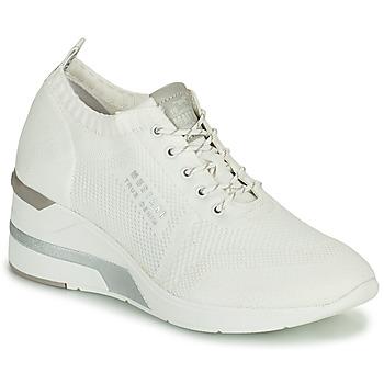 Παπούτσια Γυναίκα Ψηλά Sneakers Mustang THALIA Άσπρο