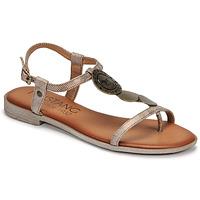 Παπούτσια Γυναίκα Σανδάλια / Πέδιλα Mustang ANITTA Bronze