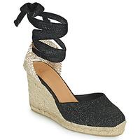 Παπούτσια Γυναίκα Σανδάλια / Πέδιλα Castaner CARINA Black / Gold
