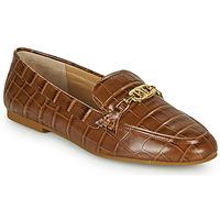 Παπούτσια Γυναίκα Μοκασσίνια Lauren Ralph Lauren AVERI Cognac