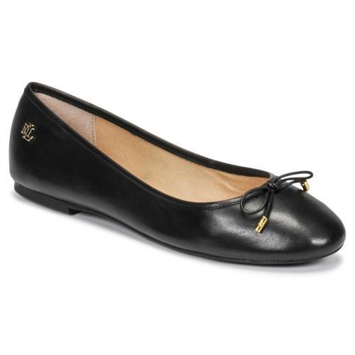 Παπούτσια Γυναίκα Μπαλαρίνες Lauren Ralph Lauren JAYNA Black