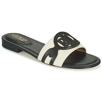 Παπούτσια Γυναίκα Τσόκαρα Lauren Ralph Lauren ALEGRA Black / Beige