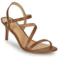 Παπούτσια Γυναίκα Σανδάλια / Πέδιλα Lauren Ralph Lauren LANDYN Cognac