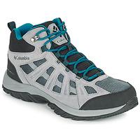 Παπούτσια Άνδρας Πεζοπορίας Columbia REDMOND III MID WATERPROOF Grey