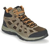 Παπούτσια Άνδρας Πεζοπορίας Columbia REDMOND III MID WATERPROOF Brown