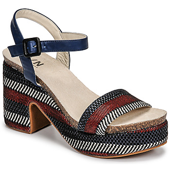 Παπούτσια Γυναίκα Σανδάλια / Πέδιλα Elue par nous JOKARY Μπλέ