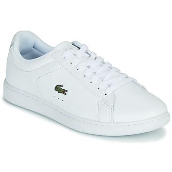 Παπούτσια Γυναίκα Χαμηλά Sneakers Lacoste CARNABY EVO BL 21 1 SFA Άσπρο