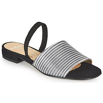 Παπούτσια Γυναίκα Σανδάλια / Πέδιλα Perlato 11117-YORK-ARGENT-CAM-NOIR Black / Argenté