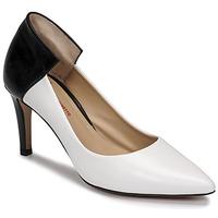 Παπούτσια Γυναίκα Γόβες Perlato 11764-VENUS-BLANC-JAMAICA-NOIR Άσπρο / Black